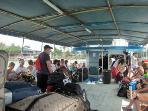 Big Buddha Ferry - what can I say? Lots and lots of 20-somethings... something to look at, right? :0