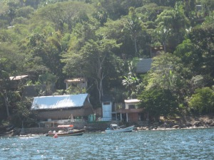 Yelapa from the water.