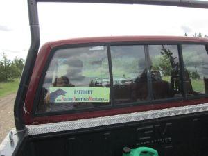 Ken's truck