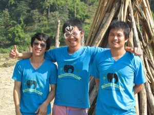 Volunteer Coordinators at Elephant Nature Park, Thailand.