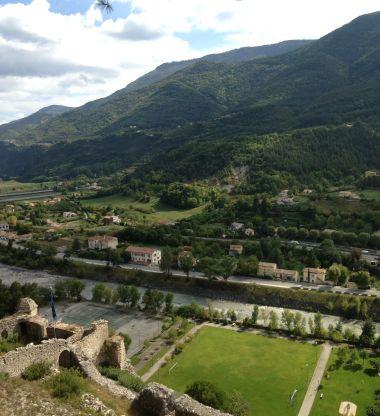 View from La Citadelle d'Entrevaux