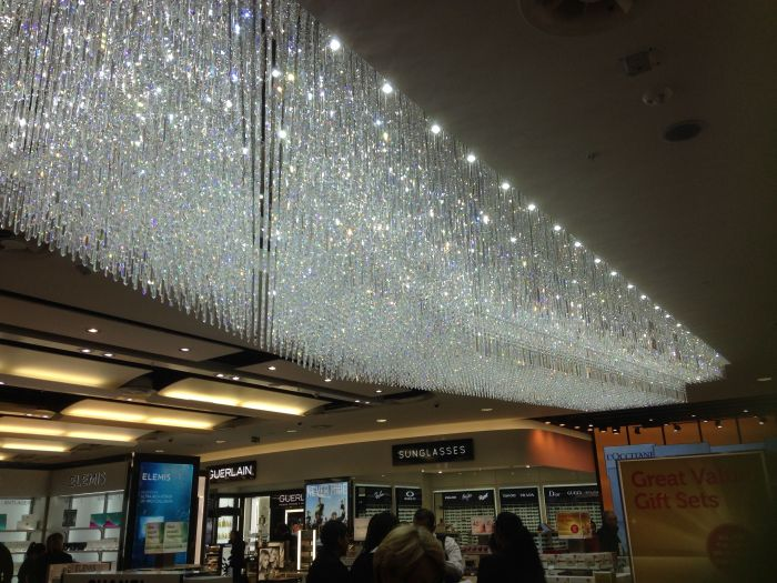 Pretty little things in Heathrow Airport. What's a girl to do?