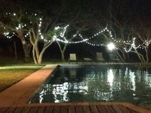 Pool at night Archipelago Resort
