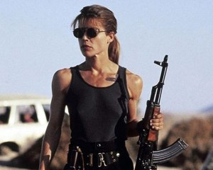 Channel your inner Sarah Connor