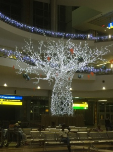 Xmas at Jo'berg Airport