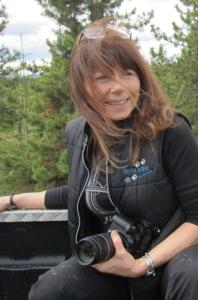 Dana Lacroix while we were on the Wild Horse Safari in Alberta.