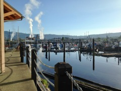 Docks of Port Alberni, BC